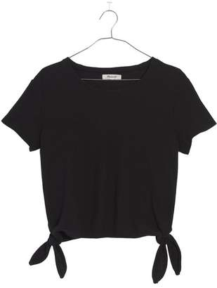 Madewell Modern Side Tie Top