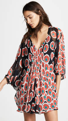 Diane von Furstenberg Fleurette Cover Up Dress