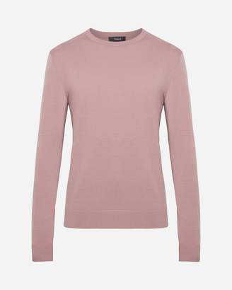 Theory Extra-Fine Merino Crewneck Sweater