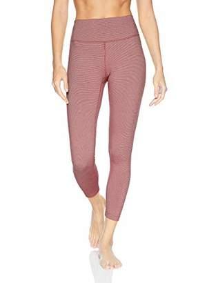 """Core 10 Women's Standard Spectrum High Waist Yoga 7/8 Crop Legging -24"""""""