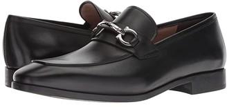 Salvatore Ferragamo Benford Bit Loafer (Nero) Men's Shoes