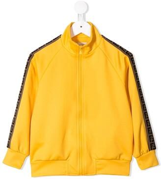 Fendi FF bands track jacket