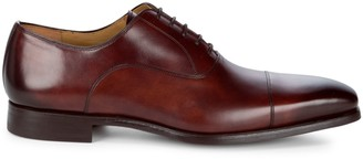 Magnanni Almond Toe Leather Oxfords