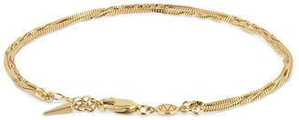 Missoma Isa Double Twisted Chain Bracelet