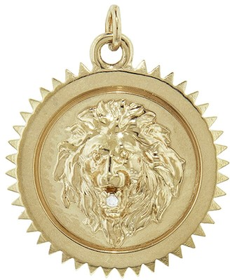 Foundrae Medium Strength Medallion - Yellow Gold