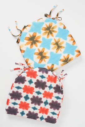 Anthropologie Tie-Dyed Indoor/Outdoor Seat Cushion