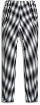 Rag & Bone Simone Gingham Slim Crop Pants