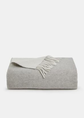Vince Wool Marl Blanket