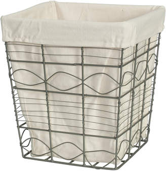 Creative Bath Soho Wire Waste Basket With Liner