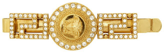 Versace Gold Crystal Empire Medusa Barette