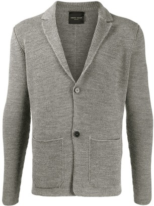 Roberto Collina Ribbed Knit Button-Front Cardigan