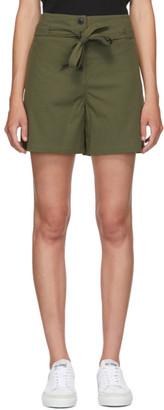 Rag & Bone Green Camille Shorts