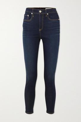 Rag & Bone Nina High-rise Skinny Jeans - Dark denim