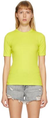 Rag & Bone Green The Rib Slim T-Shirt