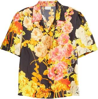Dries Van Noten Floral Print Shirt