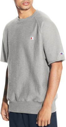 Champion Reverse Weave® Short Sleeve Sweatshirt
