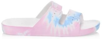 Freedom Moses Tie-Dye Plastic Pool Slides