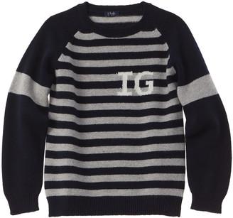 Il Gufo Striped Wool Sweater