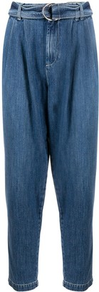 P.A.R.O.S.H. Denim Tapered Jeans