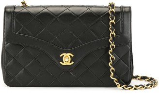 Chanel Pre Owned Diamond Quilted Shoulder Bag