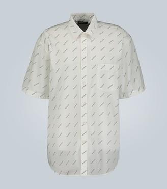 Balenciaga Short-sleeved logo shirt