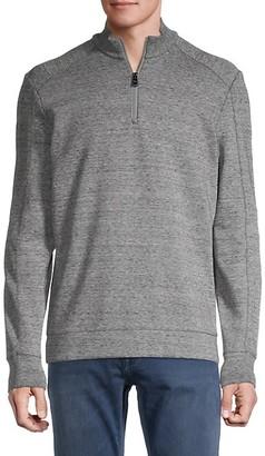 HUGO BOSS Sidney Half-Zip Knit Sweater