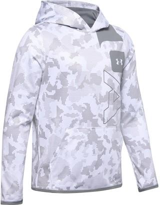 Under Armour Boys' Armour Fleece Big Logo Printed Hoodie
