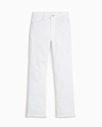Rag & Bone Nina high-rise flare - optic white