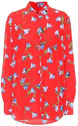 Rag & Bone Anderson floral crepe shirt