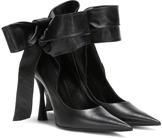 Balenciaga Dance Knife leather pumps