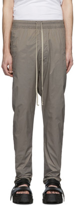 Rick Owens Grey Nylon Drawstring Lounge Pants