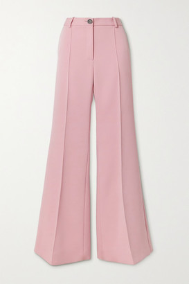 Peter Do Twill Flared Pants - Baby pink