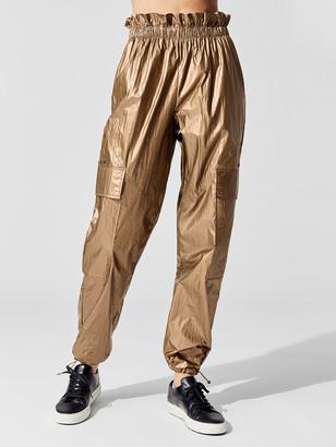Carbon38 Crinkle Track Pants