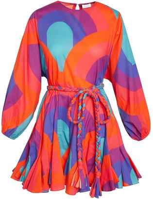 Rhode Resort Ella Dress in Retro Rainbow