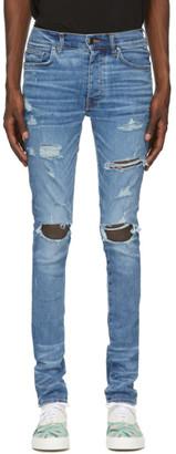 Amiri Blue Thrasher Plus Jeans