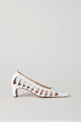 Bevza BEVZA - Cutout Leather Pumps - White