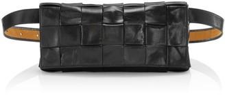 Bottega Veneta Woven Leather Belt Bag