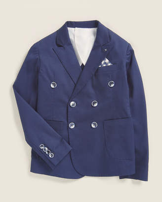 Manuell & Frank Boys 8-20) Solid Double-Breasted Sport Coat