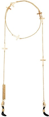 Frame Chain Gold-plated Divine cross chain