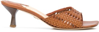 Brother Vellies Tuesday woven mules
