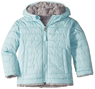 The North Face Kids Reversible Mossbud Swirl Jacket (Toddler) (Windmill Blue) Girl's Coat
