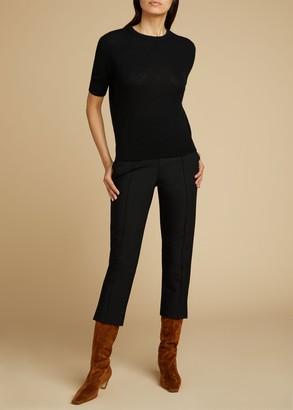 KHAITE The Bridget Pant in Black