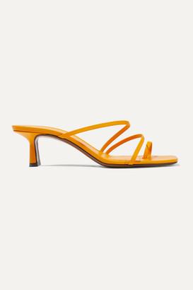 Neous Erandra Leather Sandals - Yellow