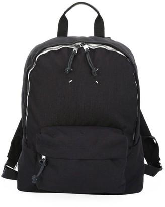 Maison Margiela Klein Canvas Backpack