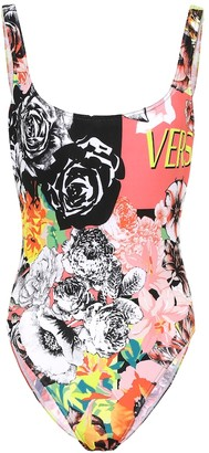 Versace Printed swimsuit