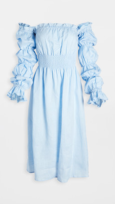 Sleeper Michelin Linen Dress