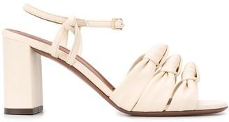 L'Autre Chose knot detail sandals
