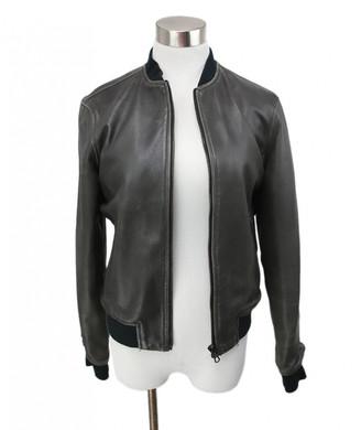 Rag & Bone Grey Leather Coats