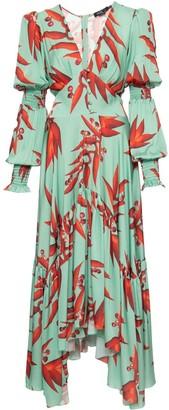 PatBO All-Over Print Maxi Dress