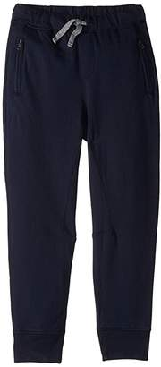 J.Crew crewcuts by Slim Jogger Sweatpants w/ Zip Pockets (Toddler/Little Kids/Big Kids) (Navy) Boy's Casual Pants